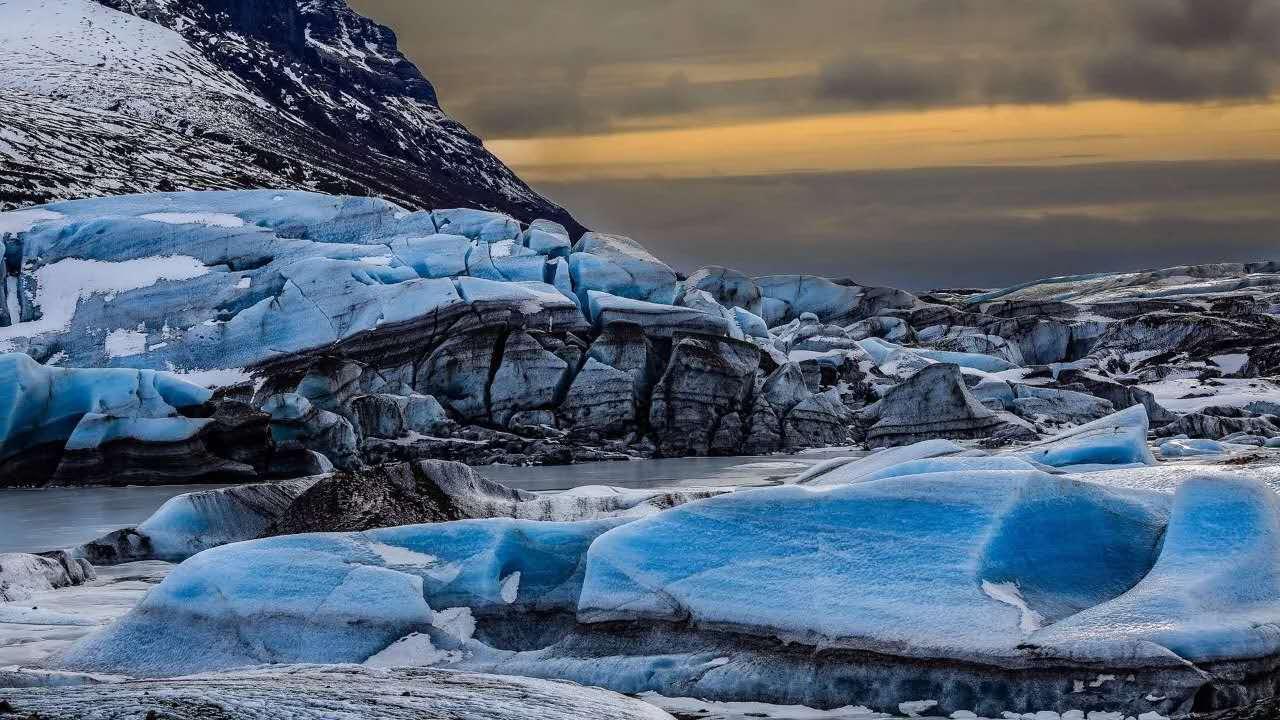 瓦特纳冰川(冰岛)